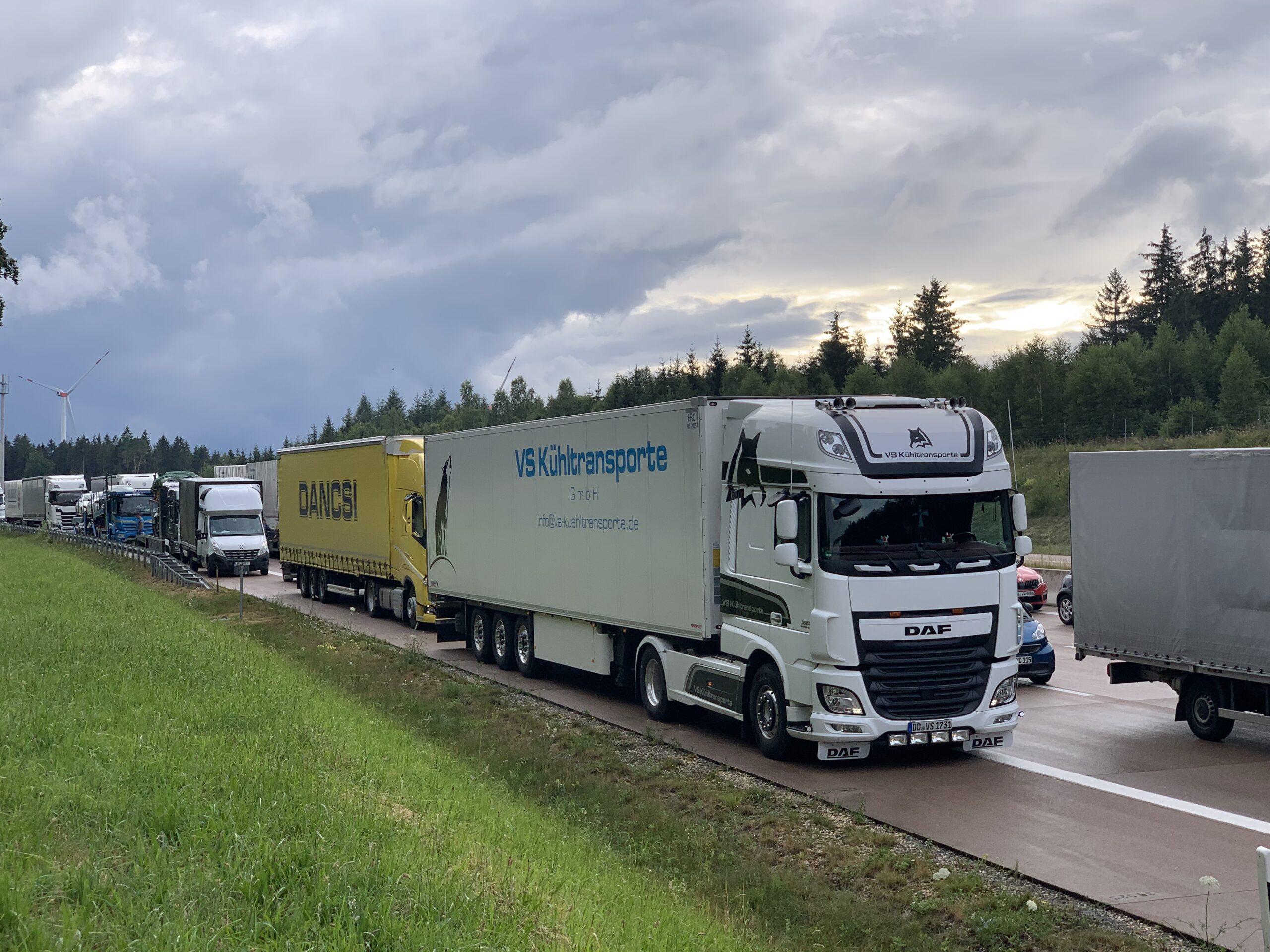 Güternah- und fernverkehr